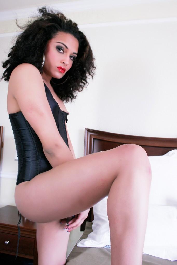 Trans girl Corset